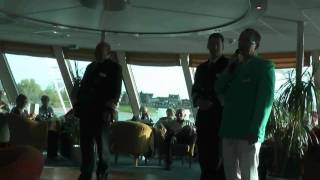 MS Aurelia auf Holland-Belgien-Fahrt  Tag 1 am 20.04.2010