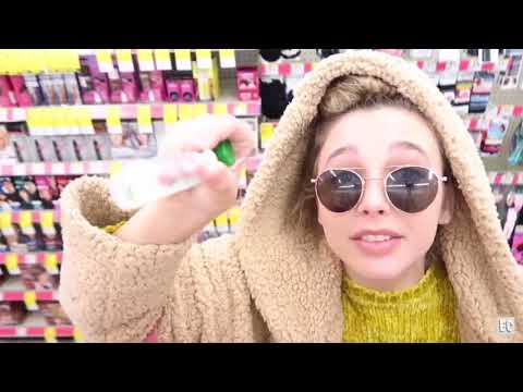 emma chamberlain applying/talking about chapstick for 3 minutes