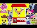 LOL MANE 6 Rescues LOL Surprise Dolls Little Sisters CLAW MACHINE GAME Toy Surprises