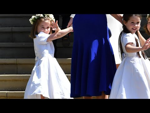 Princess Charlotte Nails the Royal Wave