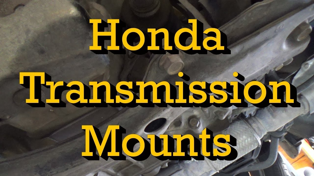 Honda V6 Transmission Mount Replacement Accord 1999 (1998-2002 Similar)