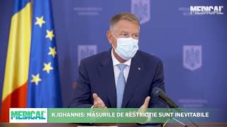 Conferință de presă Klaus Iohannis 7 octombrie :