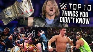 10 Things You Didn't Know About AJ Styles!