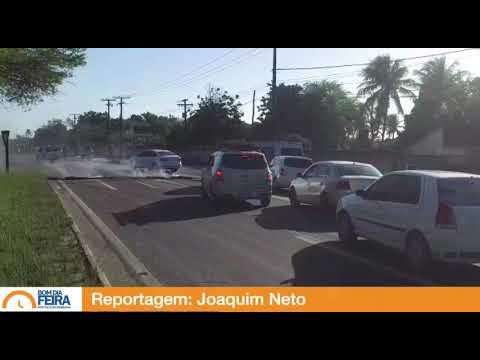 Greve geral: Bloqueio na Avenida Transnordestina