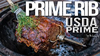 How to Cook PERFECT Prime Rib Every Time | SAM THE COOKING GUY4K