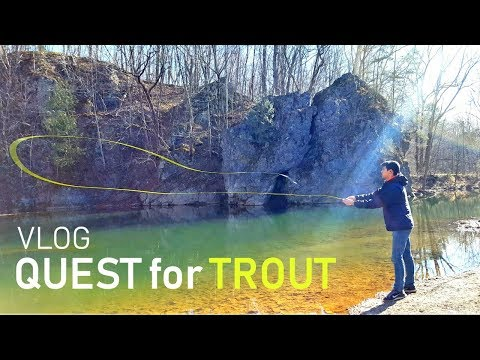 Trout Trek! Vlog ADVENTURE - Holmes Run Falls Church, VA And Stony Creek Edinburg, VA