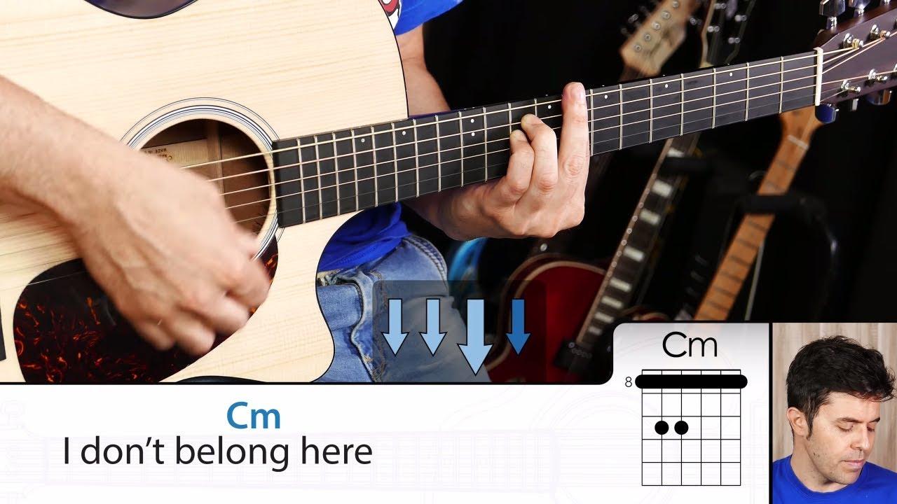 Cómo tocar CREEP de Radiohead en guitarra tutorial completo