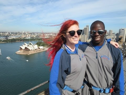 Climbing The Sydney Harbour Bridge (BridgeClimb Sydney)