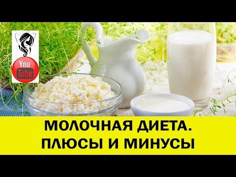 Молочная диета для похудения: меню, отзывы