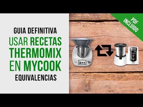 Adaptar Recetas Thermomix a Mycook