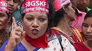 La catástrofe del Rana Plaza marca las protestas del Primero de Mayo en Bangladés
