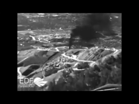 Aerial Footage of Aliso Canyon Natural Gas Leak