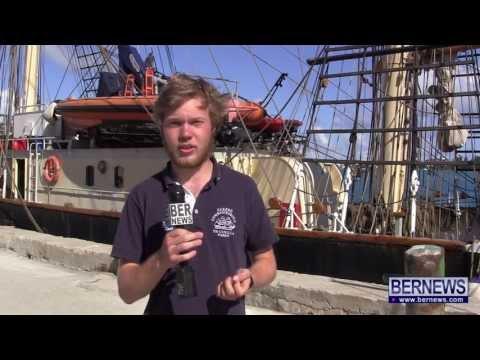 Swedish Tall Ship Gunilla Stops In Bermuda, May 6 2013