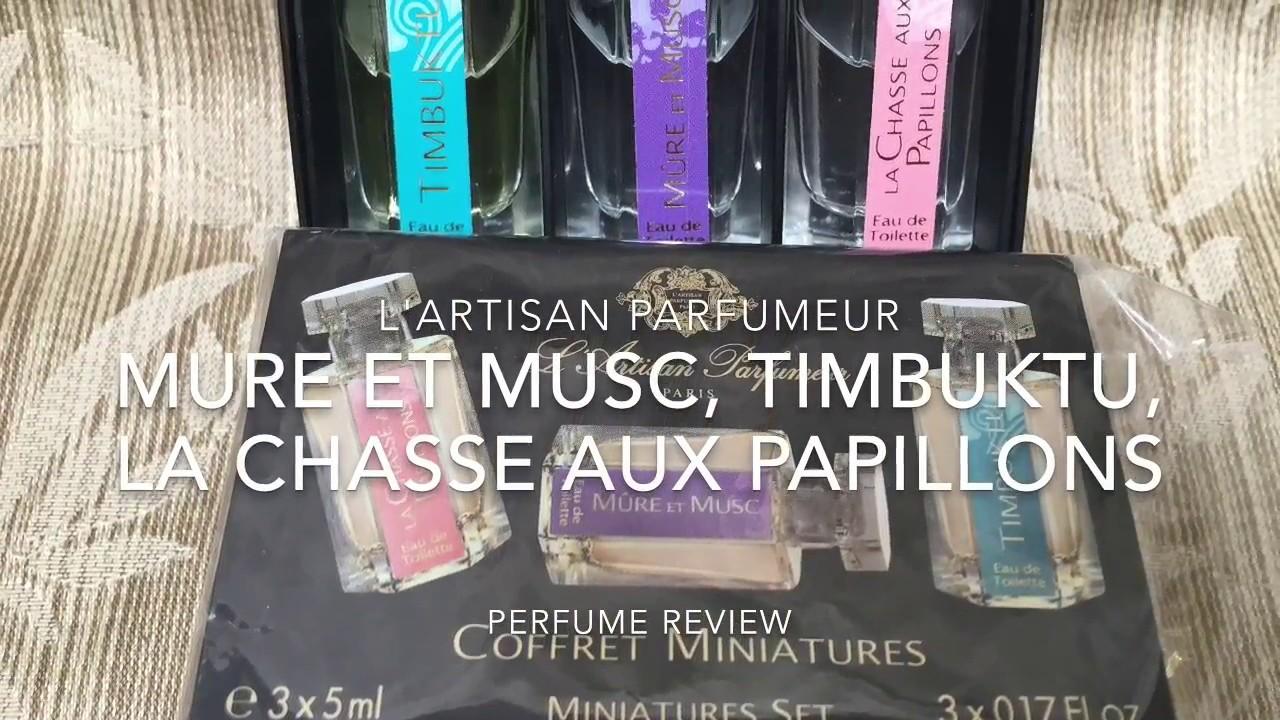 Review – L'ARTISAN PARFUMEUR – Mure et Musc, Timbuktu, La Chasse aux Papillons
