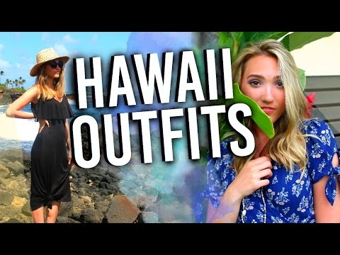 What I Wore On Vacation In HAWAII! Vacation OOTW & Outfit Ideas 2017!