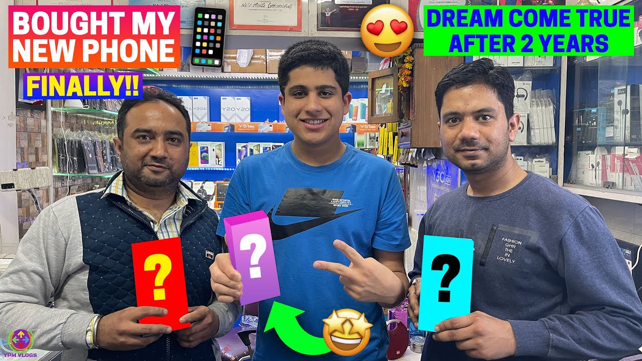 I BOUGHT MY DREAM PHONE FINALLY !! 😍😎🔥