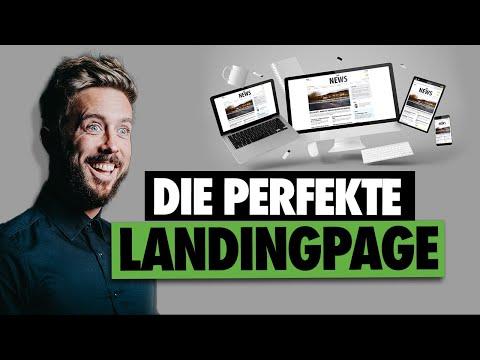 LANDINGPAGE ANLEITUNG - So baust Du eine erfolgreiche Landingpage!