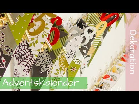 Advent Calendar Tutorial - Adventskalender - Stampin' Up! Demonstrator - YouTube
