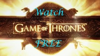 Watch Game Of Thrones Season 6 For Free