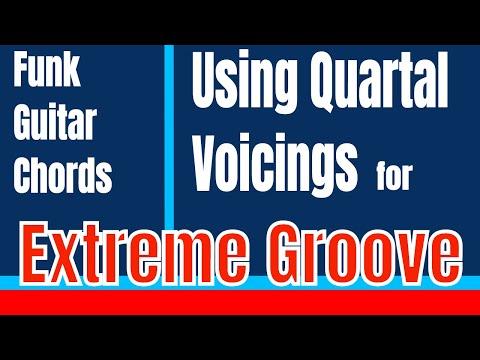 Funk Guitar Chords | Jazz Up Your Rhythm with Quartal Harmony