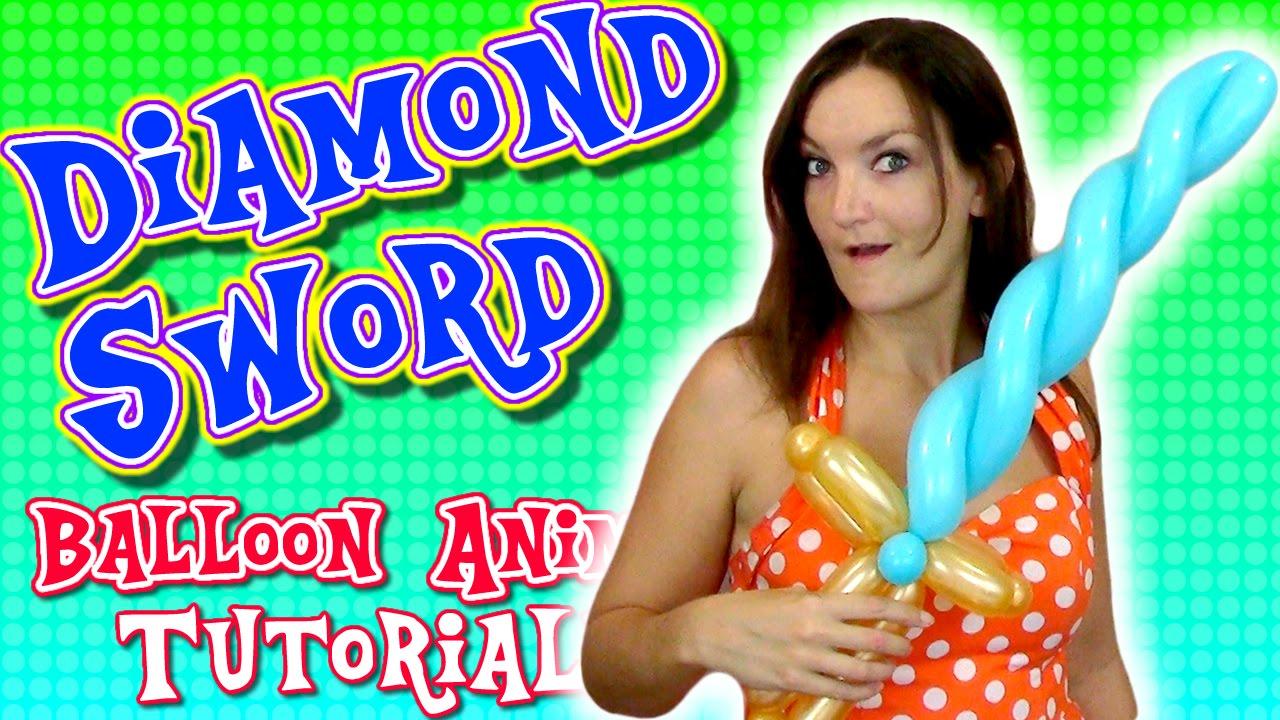 Diamond Sword Minecraft Balloon Animal Tutorial Learn Balloon Animals With Holly Youtube,Modern High Chair Dining Table