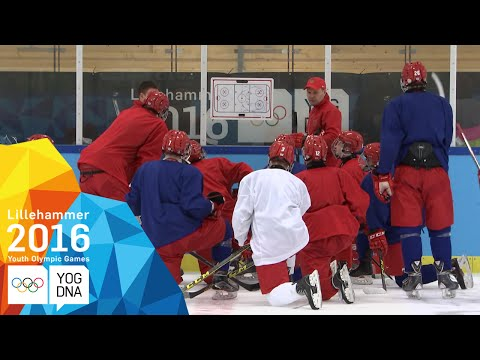 Building the Russian Ice Hockey Team | Lillehammer 2016 Youth Olympic Games