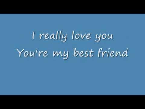 Queen Youre My Best Friend Lyrics Youtube