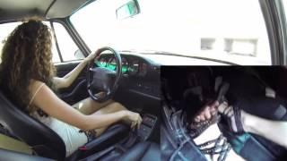 Fast Driving Girls - Fede, Porsche 911 (993) - high heels and …