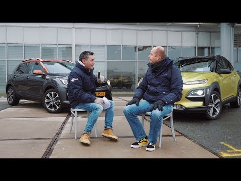ANWB Dubbeltest Hyundai Kona vs. Kia Stonic 2017