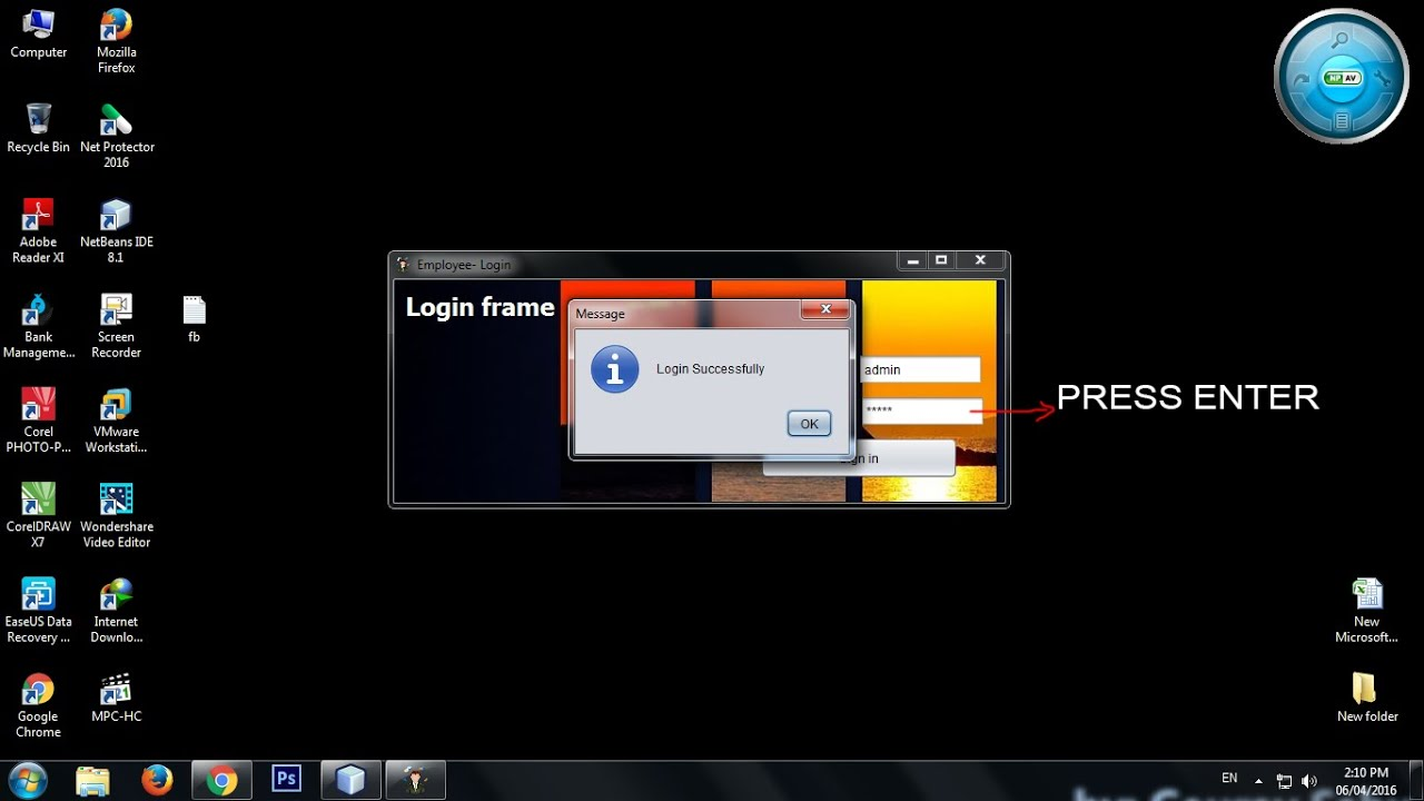 Login by pressing enter key or jbuttonsolved java tutorial 13 login by pressing enter key or jbuttonsolved java tutorial 13 baditri Image collections