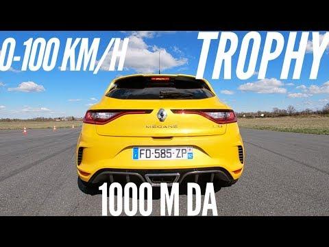 Renault Mégane 4 RS Trophy acceleration