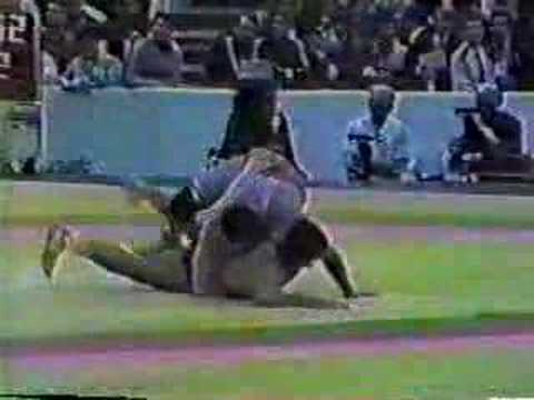 Bruce Baumgartner v.  David Gobedjishvili 1986 World Champs