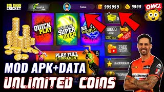 Gambar cover 🔥WCC2 कंपनी का! BIG Bash Cricket MOD | Unlimited Coins With Sign in | Apk Data Download