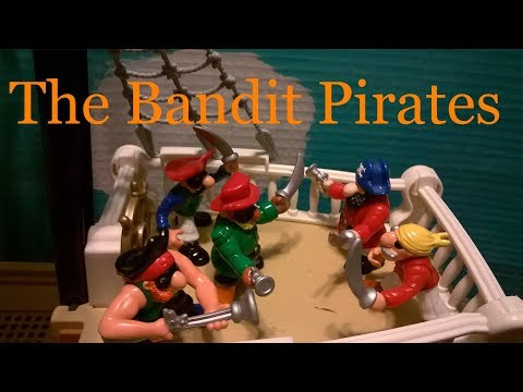 Fisher-Price Great Adventures Pirate Ship: The New Adventures - The Bandit Pirates