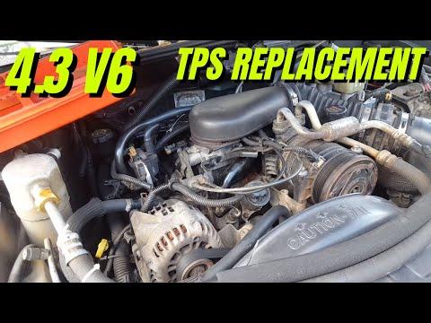 How To Replace Throttle Position Sensor S10 Blazer 43 V6 Youtube