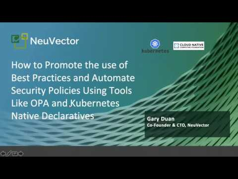 Webinar: How to Promote the use of Best Practices & Automate Security Policies