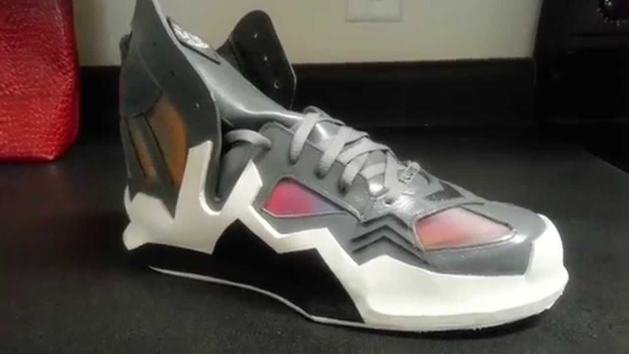 Hand Crafted Basketball Shoes - YouTube