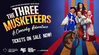 The Three Musketeers: A Comedy Adventure trailer | 16 - 17 July 2021