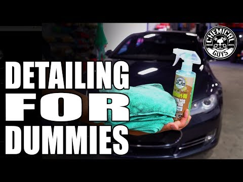 Learn The Ins And Outs Of Waterless Detailing - Chemical Guys Car Care