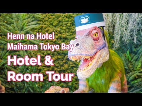 Henn na Hotel Maihama Tokyo Bay Room & Lobby Tour (Robot Hotel)