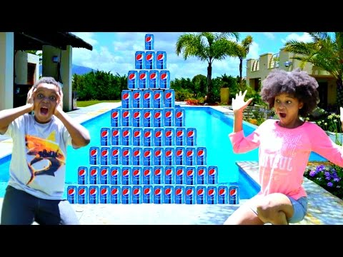Thumbnail: Shiloh and Shasha AMAZING PEPSI CHALLENGE!! - Onyx Kids Junior
