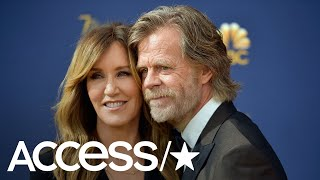 Felicity Huffman's Husband William H. Macy Got Real About Their Daughter's College Apps Weeks Ago