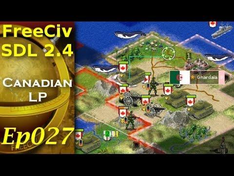 FreeCiv 2.4.0 [SDL Client] Canadian LP - Ep027