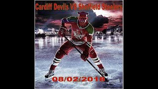 Cardiff devils Vs Sheffield Steelers - 07-02-2018