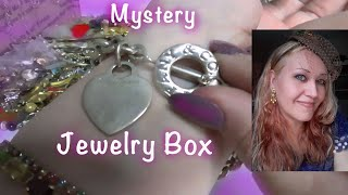 Shocking!Tiffany & More Found in the 20 pound Mystery Jewelry Box.Vintage to Modern Jewelry Unboxing