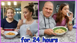 COOKING HOMEMADE FOOD FOR OUR PARENTS FOR 24 HOURS | SISTER FOREVER