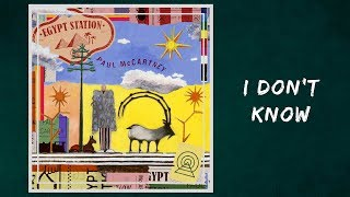 Paul McCartney  - I Don't Know (Lyrics)