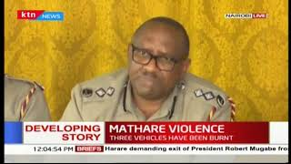 Police Commander-Japheth Koome challenges the police to uphold peace