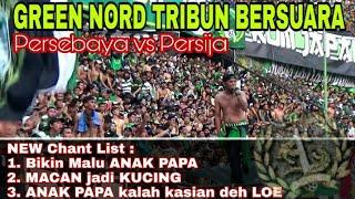 Full Chant Sindiran buat JAK dan Persija Keras Bergemuruh di Stadion GBT | Psby vs Persija 3-0