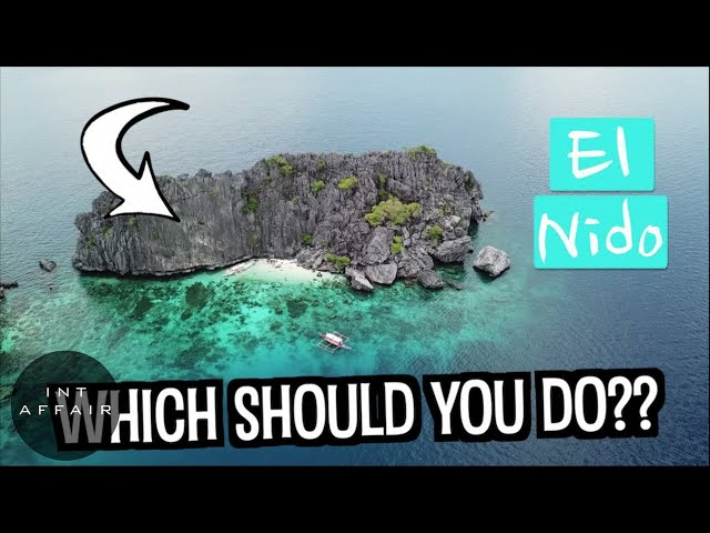 BEST BOAT TOUR IN EL NIDO PALAWAN 4K | PHILIPPINES TRAVEL